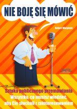 okładka książki Nie boję się mówić!