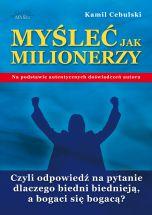 okładka - książka, ebook Myśleć Jak Milionerzy