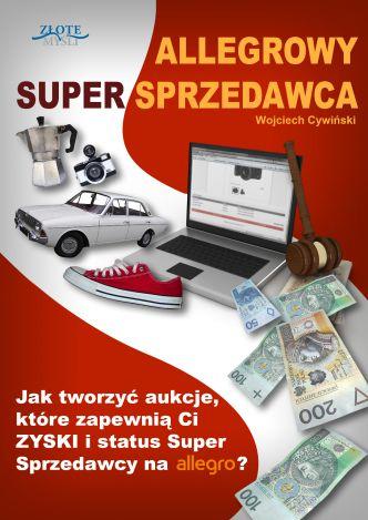 Okładka Allegrowy Super Sprzedawca