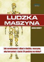 okładka - książka, ebook Ludzka maszyna