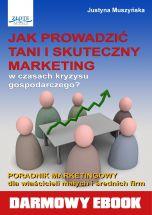 okładka - książka, ebook Jak prowadzić tani i skuteczny marketing?