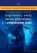 okładka książki Usprawnij swój serwis internetowy i zwielokrotnij zyski
