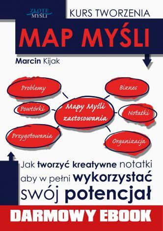 Okładka Kurs tworzenia map myśli