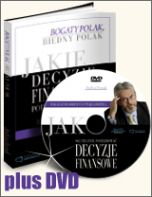 okładka książki [Edycja DVD] Jakie decyzje finansowe podejmują bogaci i dlaczego biedni robią błędy, działając inaczej