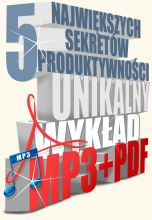 okładka książki 5 największych sekretów produktywności