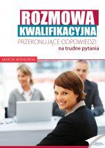 okładka - książka, ebook Rozmowa kwalifikacyjna