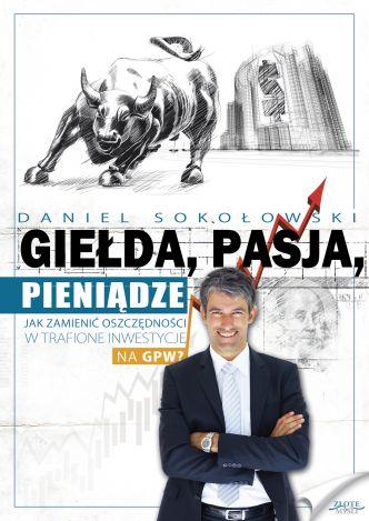 Okładka Giełda, pasja, pieniądze!