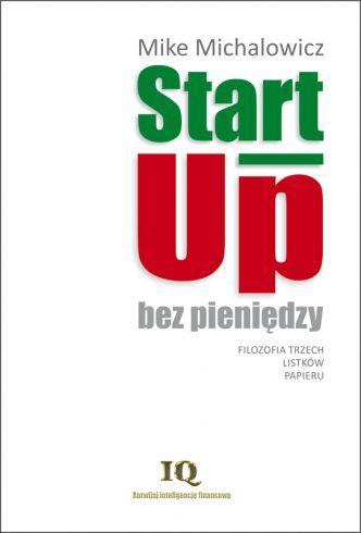 Okładka Start-Up bez pieniędzy