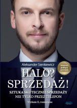 okładka - książka, ebook Halo? Sprzedaż!