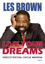 okładka książki Live your dreams