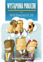 okładka - książka, ebook Wystąpienia publiczne dla nieśmiałych