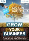 okładka - książka, ebook Grow Your Business - Powiększ swój biznes