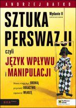 okładka - książka, ebook SZTUKA PERSWAZJI, czyli język wpływu i manipulacji