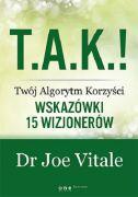 okładka książki T.A.K.! - Twój Algorytm Korzyści.