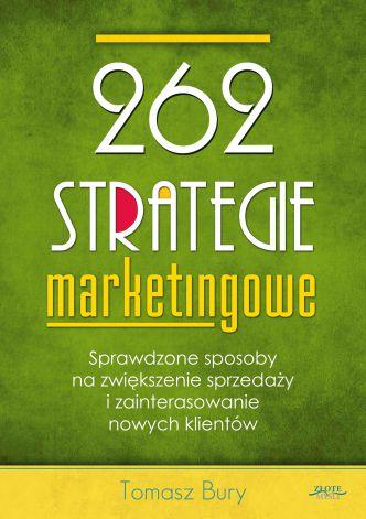 Okładka 262 strategie marketingowe