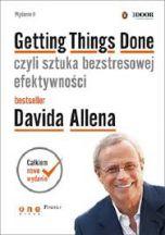 okładka książki Getting Things Done, czyli sztuka bezstresowej efektywności