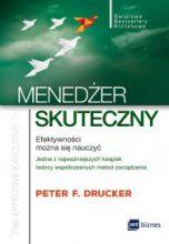 okładka książki Menedżer skuteczny