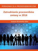 Zatrudnianie pracowników - zmiany w 2016 (Wersja audio (MP3))