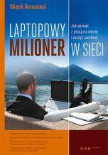 okładka - książka, ebook Laptopowy Milioner