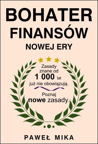 Okładka Bohater Finansów Nowej Ery