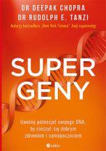 okładka książki Supergeny. Uwolnij potencjał swojego DNA, by cieszyć się dobrym zdrowiem i samopoczuciem