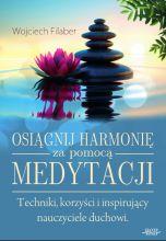 okładka książki Osiągnij harmonię za pomocą medytacji