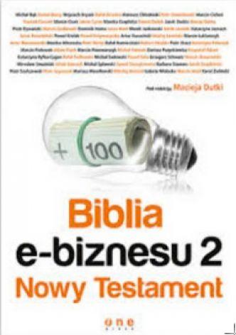 Okładka Biblia e-biznesu 2. Nowy Testament