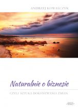 okładka - książka, ebook Naturalnie o biznesie