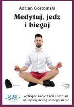 okładka - książka, ebook Medytuj, jedz i biegaj