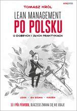 okładka książki Lean management po polsku. O dobrych i złych praktykach
