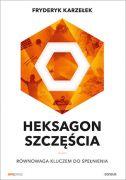 okładka - książka, ebook Heksagon szczęścia