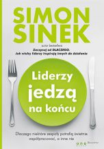 okładka - książka, ebook Liderzy jedzą na końcu