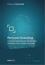 okładka - książka, ebook Personal branding