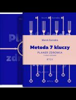 okładka - książka, ebook Metoda 7 kluczy. Planer zdrowia.
